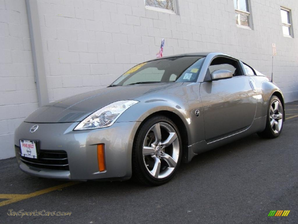 2006 nissan 350z touring coupe in silverstone metallic. Black Bedroom Furniture Sets. Home Design Ideas
