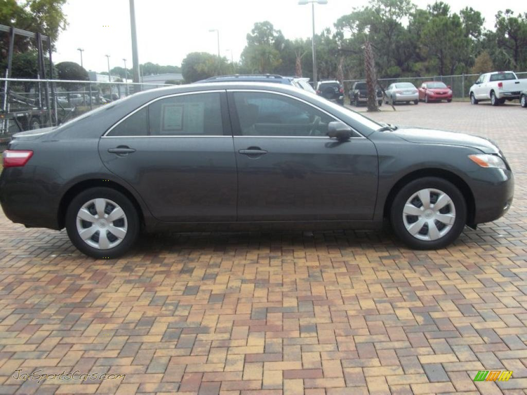 2008 toyota camry le in magnetic gray metallic 733423 jax sports cars cars for sale in florida. Black Bedroom Furniture Sets. Home Design Ideas