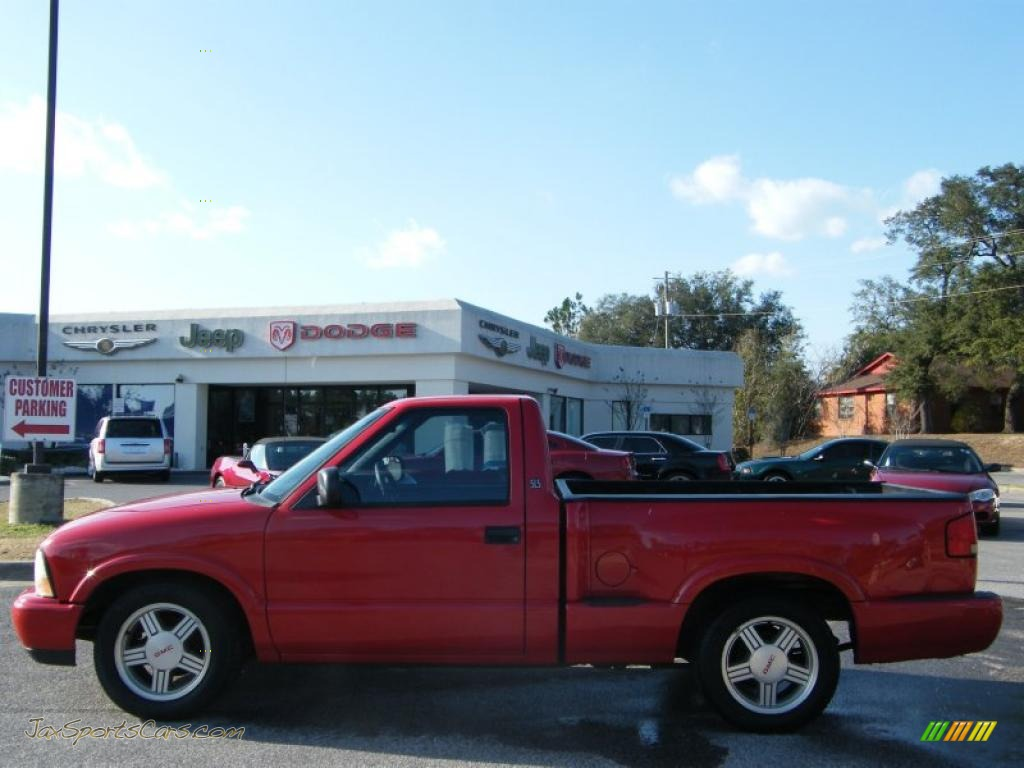 2000 gmc sonoma sls sport regular cab in fire red photo 2 310747 jax sports cars cars for. Black Bedroom Furniture Sets. Home Design Ideas