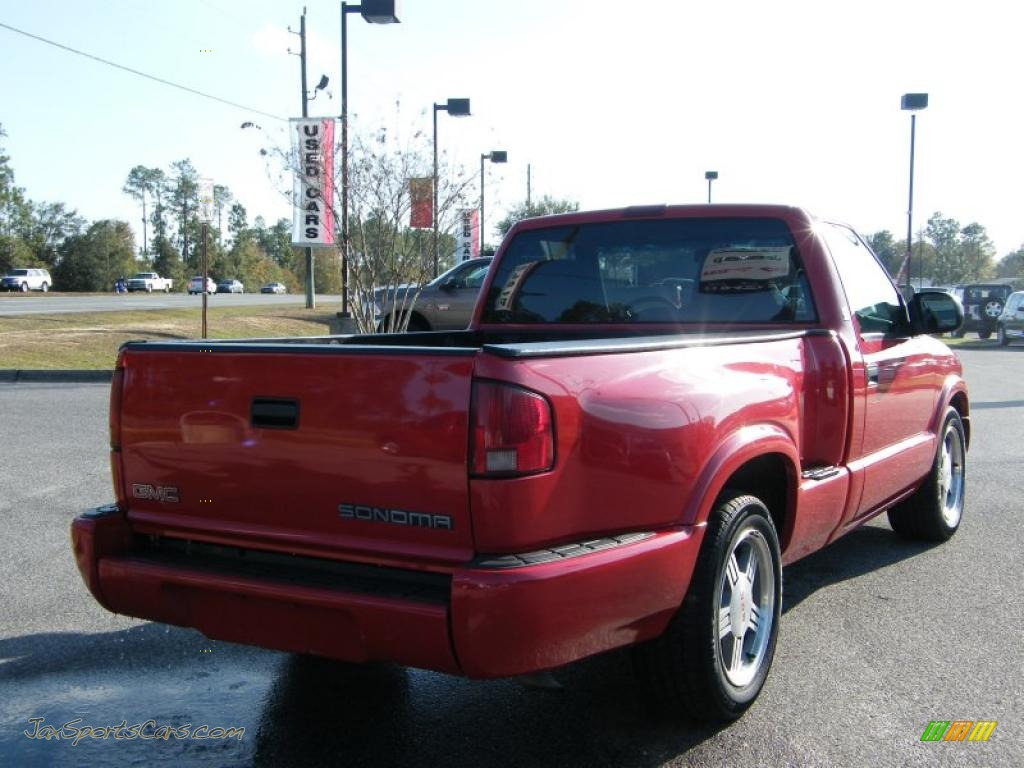 2000 gmc sonoma sls sport regular cab in fire red photo 3 310747 jax sports cars cars for. Black Bedroom Furniture Sets. Home Design Ideas