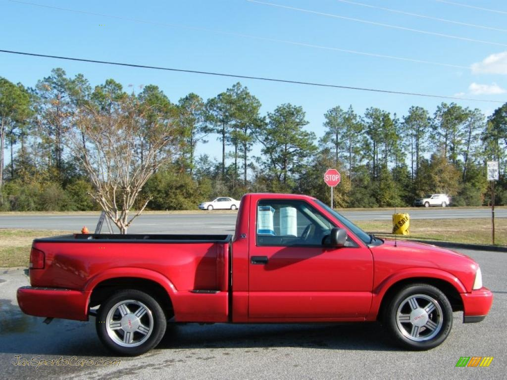 2000 gmc sonoma sls sport regular cab in fire red photo 4 310747 jax sports cars cars for. Black Bedroom Furniture Sets. Home Design Ideas