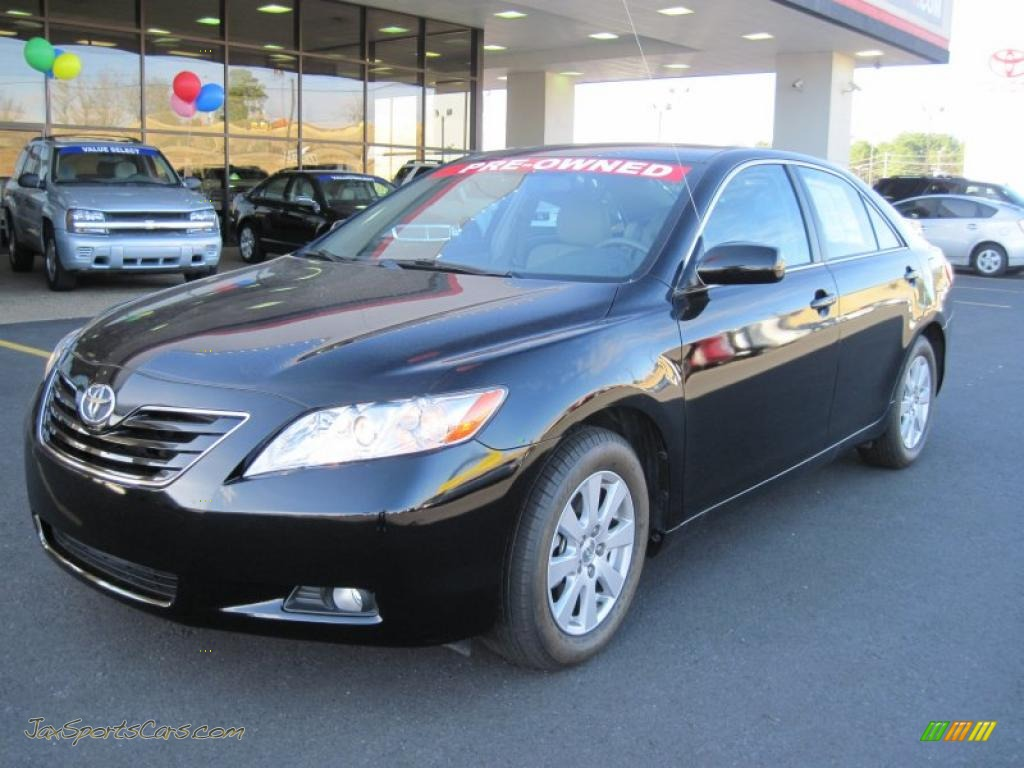 2007 Toyota Camry Xle V6 In Black 536395 Jax Sports Cars Cars For Sale In Florida