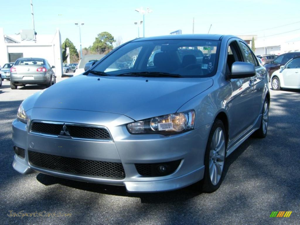 2008 mitsubishi lancer gts in apex silver metallic 003886 jax sports cars cars for sale in. Black Bedroom Furniture Sets. Home Design Ideas