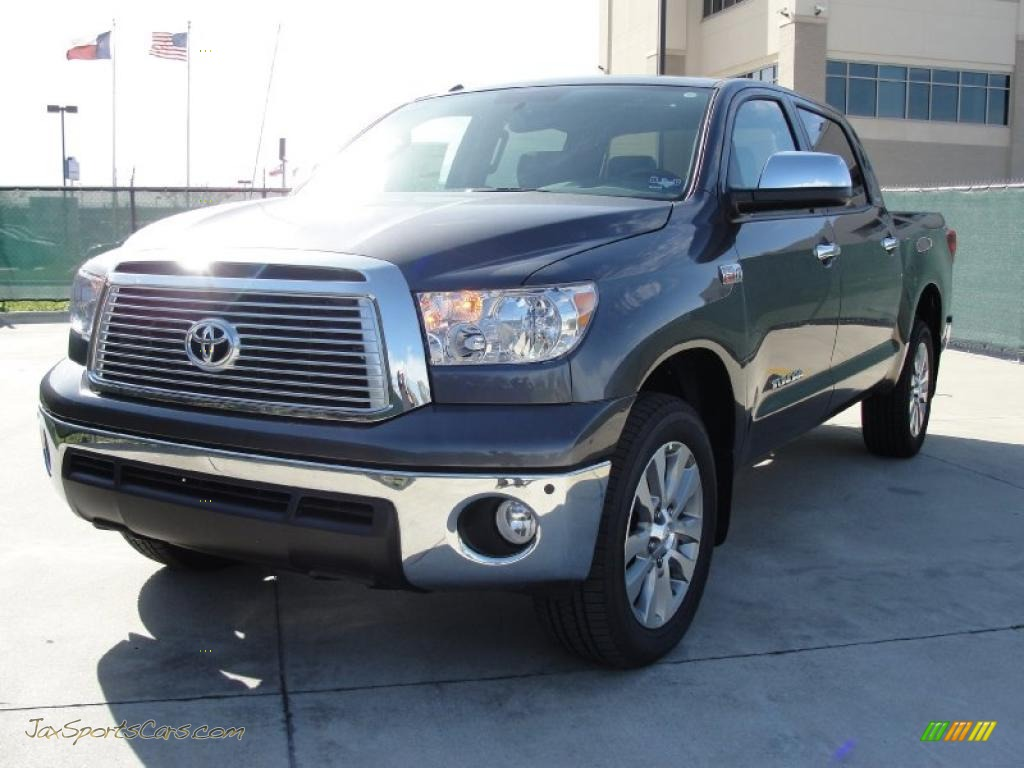 2011 toyota tundra platinum crewmax in magnetic gray metallic photo 7 102619 jax sports. Black Bedroom Furniture Sets. Home Design Ideas