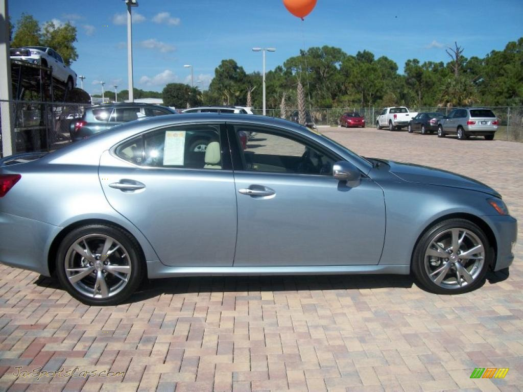 2009 Lexus Is 250 In Breakwater Blue Metallic 090110