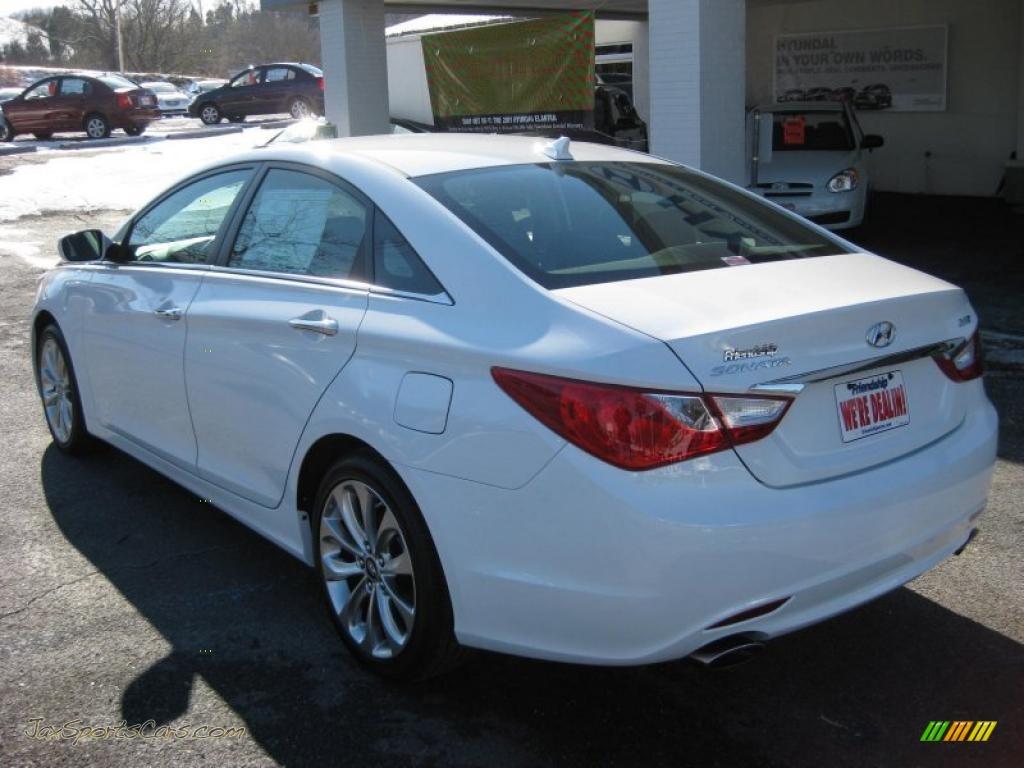 2011 Hyundai Sonata Se 2 0t In Pearl White Photo 8