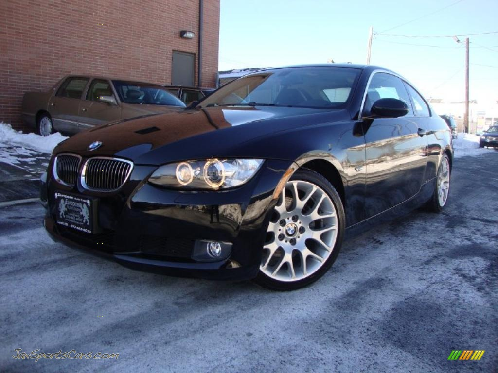 BMW Series I Coupe In Black Sapphire Metallic - 2008 bmw 328 coupe