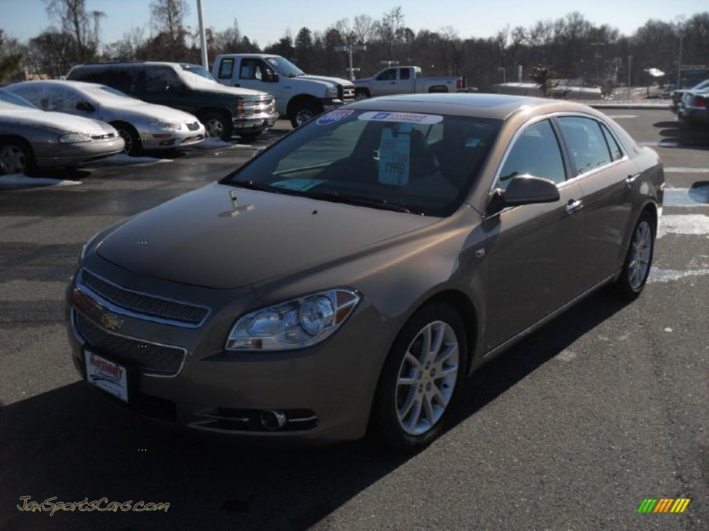 2008 chevrolet malibu ltz sedan in amber bronze metallic 159560 jax sports cars cars for. Black Bedroom Furniture Sets. Home Design Ideas