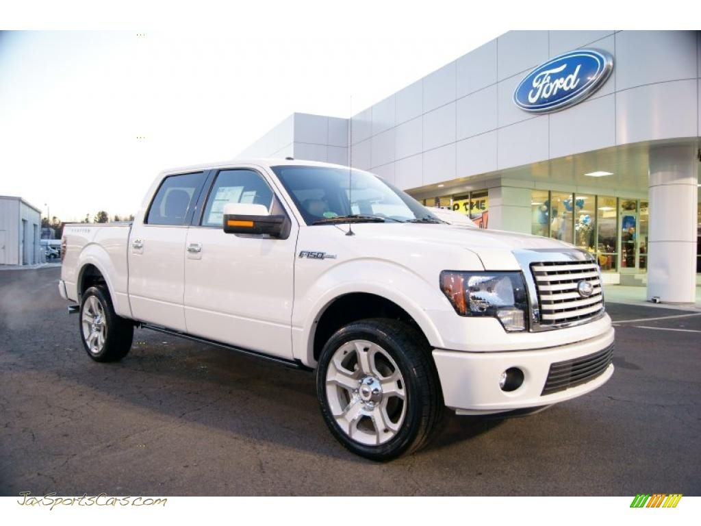 2011 Ford F150 Limited Supercrew 4x4 In White Platinum