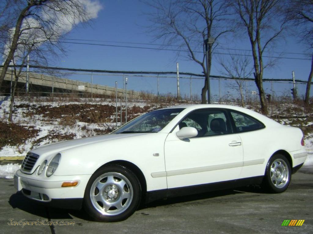 1999 mercedes benz clk 320 coupe in glacier white 085739 for 1999 mercedes benz clk320 for sale