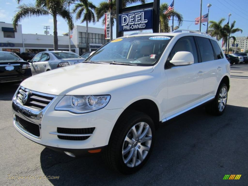 Ford Dealer Miami >> 2008 Volkswagen Touareg 2 VR6 in Campanella White - 030838 ...