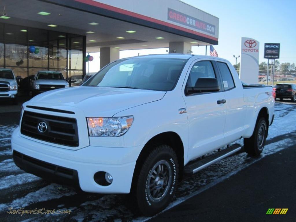 2011 Toyota Tundra TRD Rock Warrior Double Cab 4x4 in Super White ...