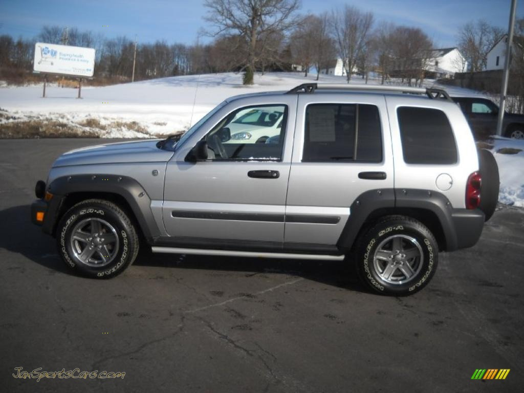 2005 jeep liberty renegade 4x4 in bright silver metallic photo 6 722754 jax sports cars. Black Bedroom Furniture Sets. Home Design Ideas