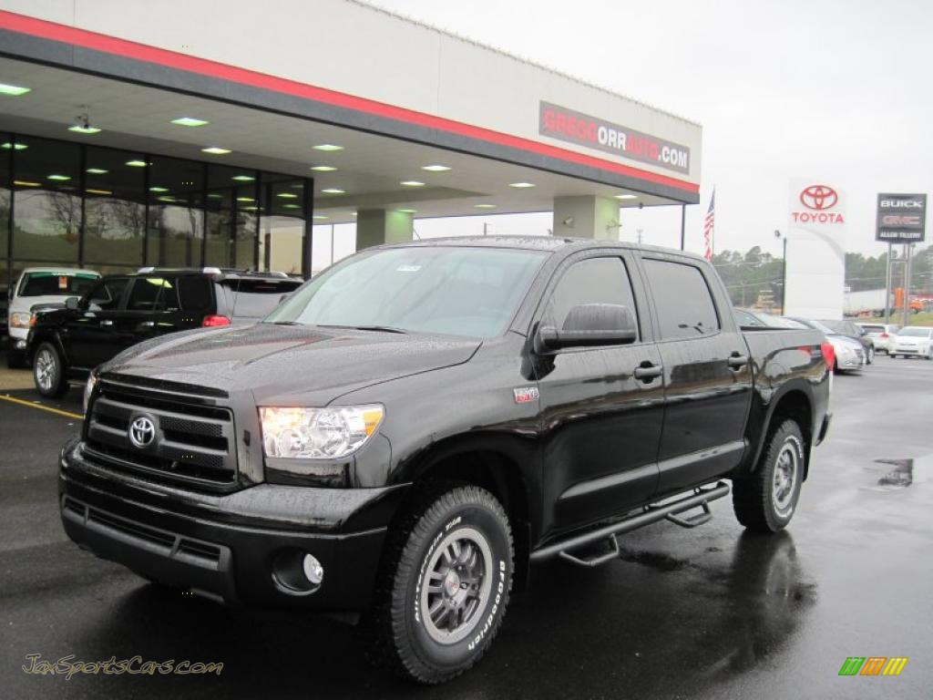 2011 toyota tundra trd rock warrior crewmax 4x4 in black 182285 jax sports cars cars for. Black Bedroom Furniture Sets. Home Design Ideas