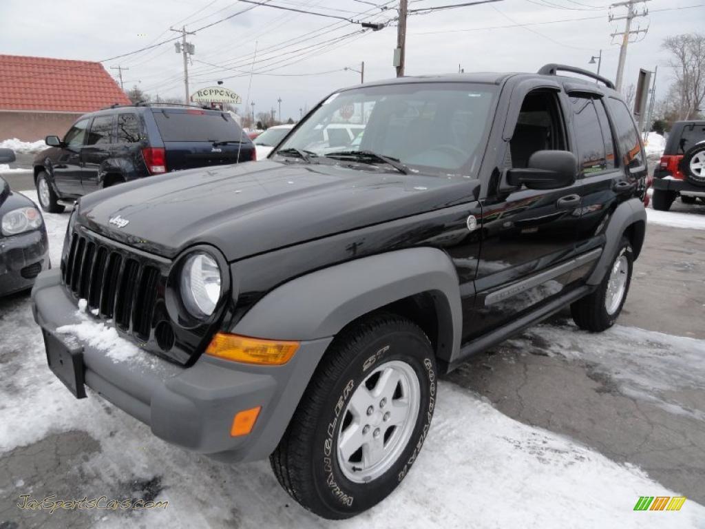 2006 Jeep Liberty Sport 4x4 In Black 103083 Jax Sports