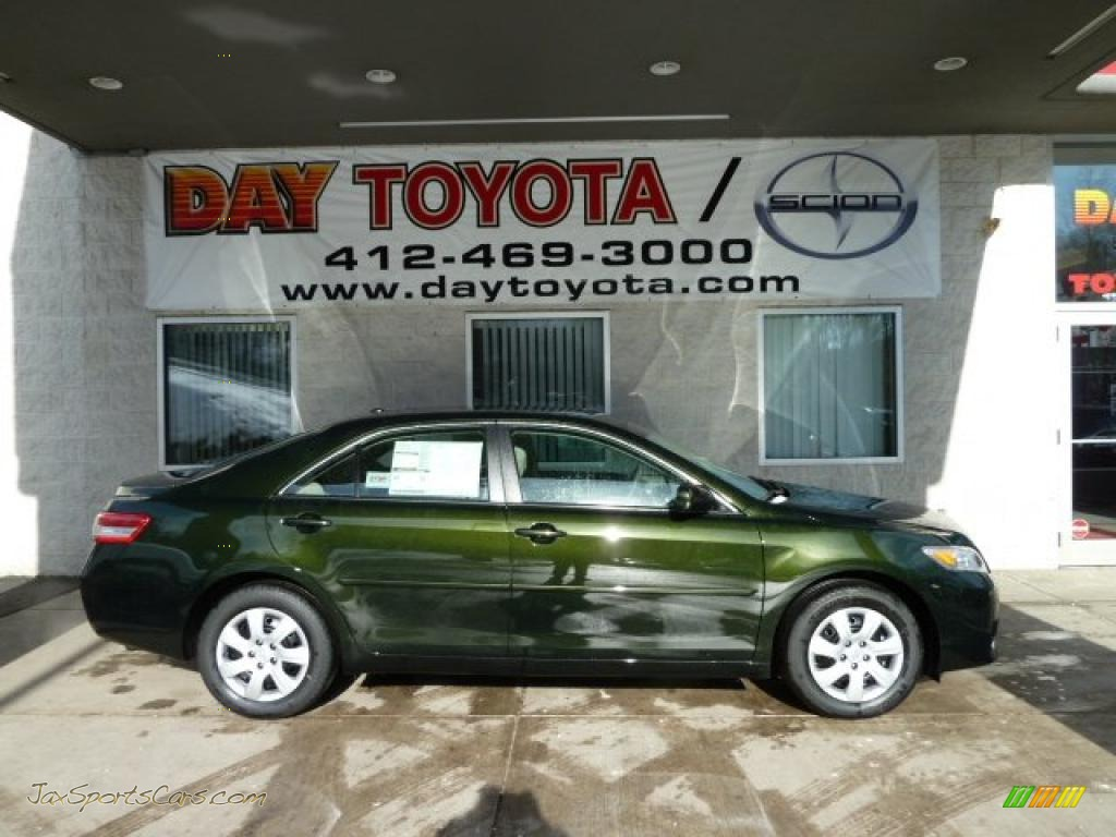 2011 Toyota Camry Le In Spruce Green Mica 665912 Jax