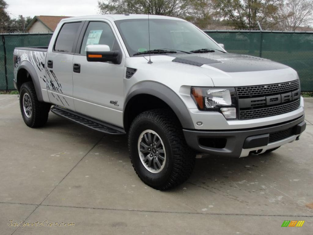 2011 ford f150 svt raptor supercrew 4x4 in ingot silver metallic a26562 jax sports cars. Black Bedroom Furniture Sets. Home Design Ideas