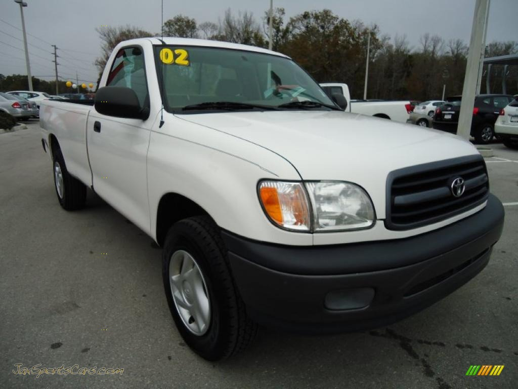 2002 toyota tundra regular cab in natural white photo 10 273650 jax sports cars cars for. Black Bedroom Furniture Sets. Home Design Ideas