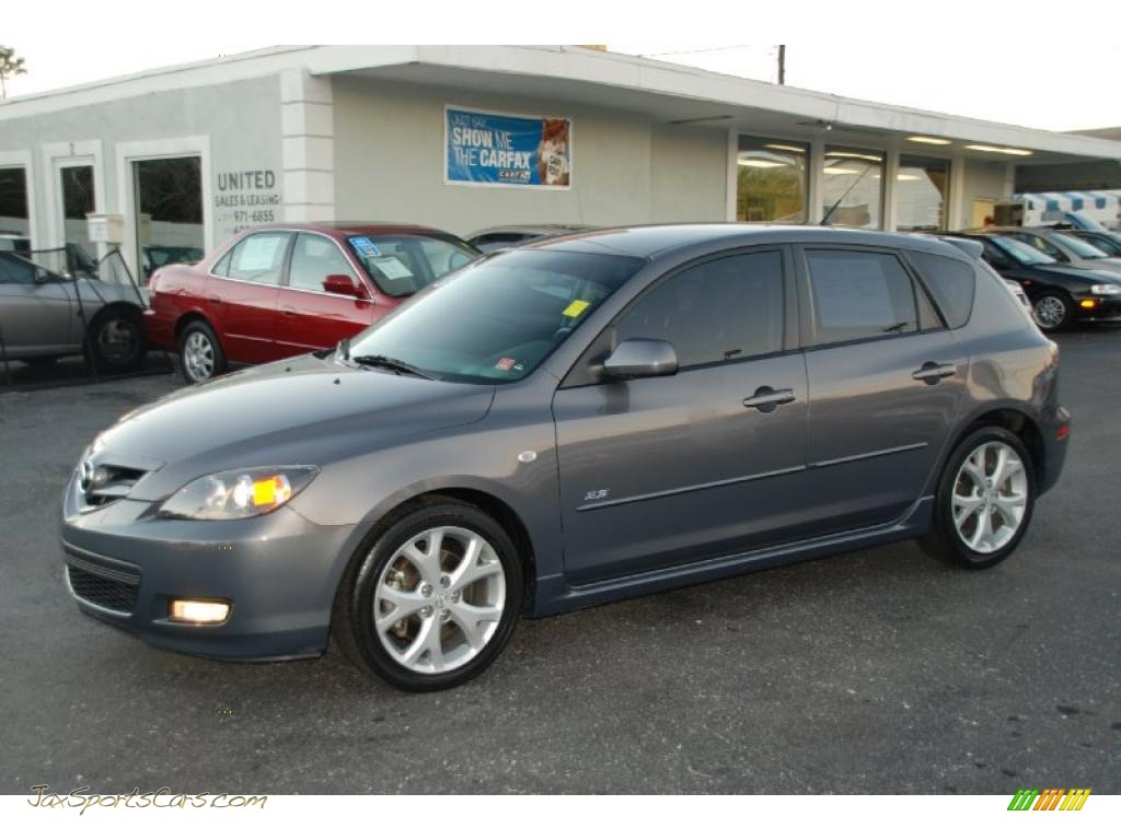2008 mazda mazda3 s sport hatchback in metropolitan gray mica 102225 jax sports cars cars. Black Bedroom Furniture Sets. Home Design Ideas