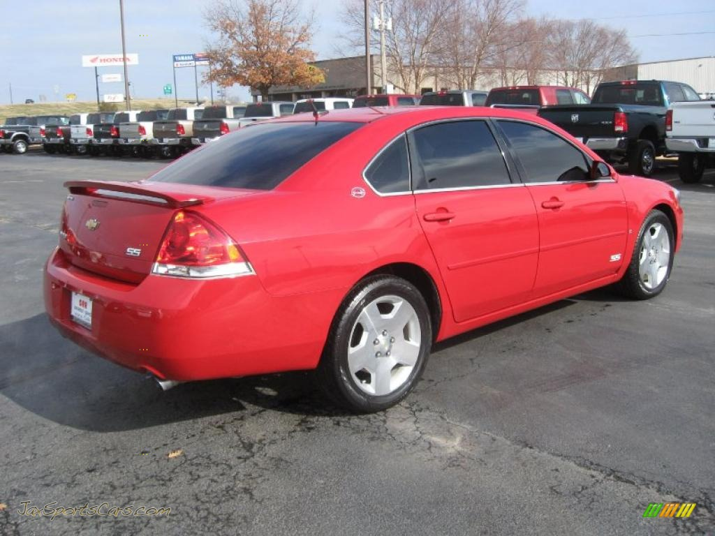 2008 chevrolet impala ss in precision red photo 5. Black Bedroom Furniture Sets. Home Design Ideas