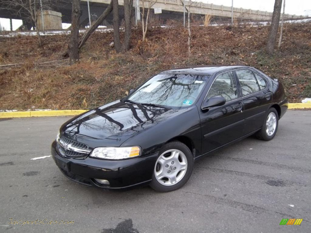 2000 Nissan Altima Gle In Super Black 243317 Jax