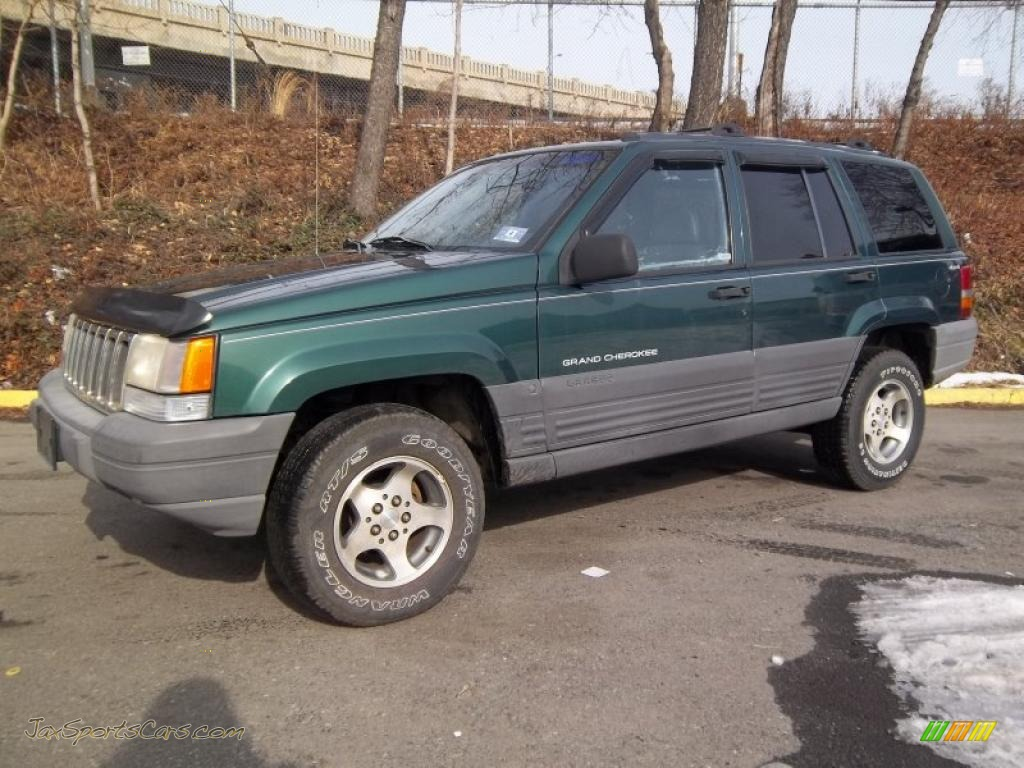 1996 jeep grand cherokee laredo 4x4 in forest green pearlcoat 212127. Cars Review. Best American Auto & Cars Review