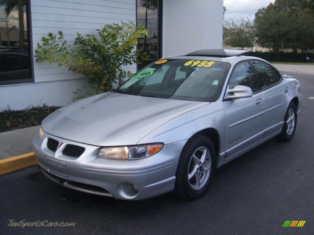 2002 Pontiac Grand Prix Gt Sedan In Galaxy Silver Metallic