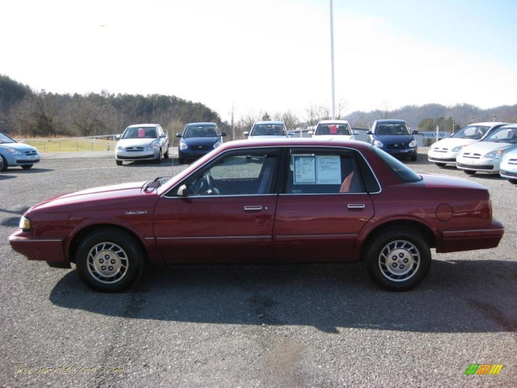1994 Oldsmobile Cutlass Ciera S in Medium Garnet Red Metallic - 387154 ...