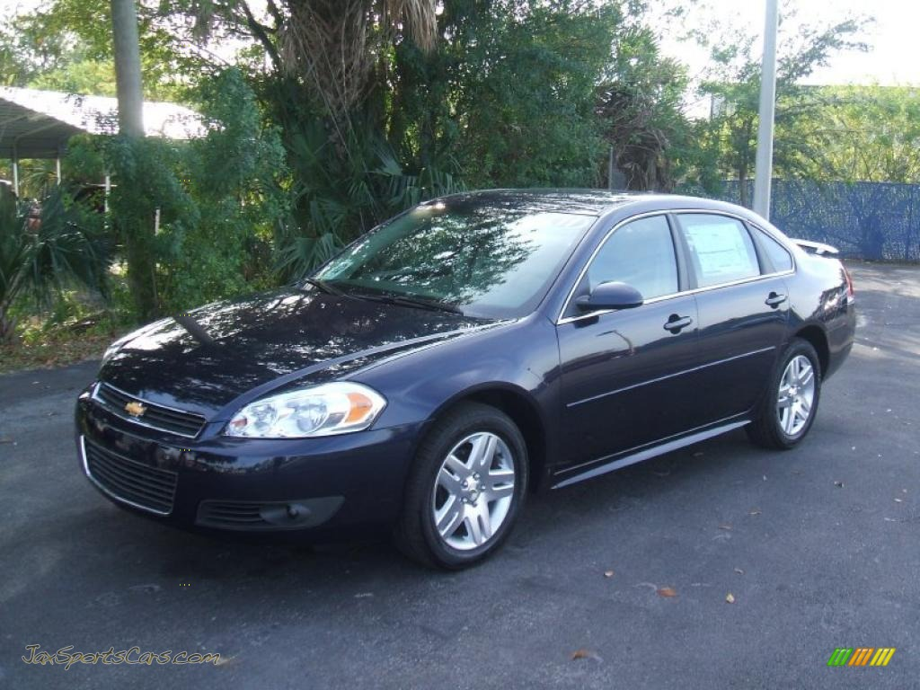 2011 chevrolet impala lt in imperial blue metallic 194209 jax sports cars cars for sale in. Black Bedroom Furniture Sets. Home Design Ideas