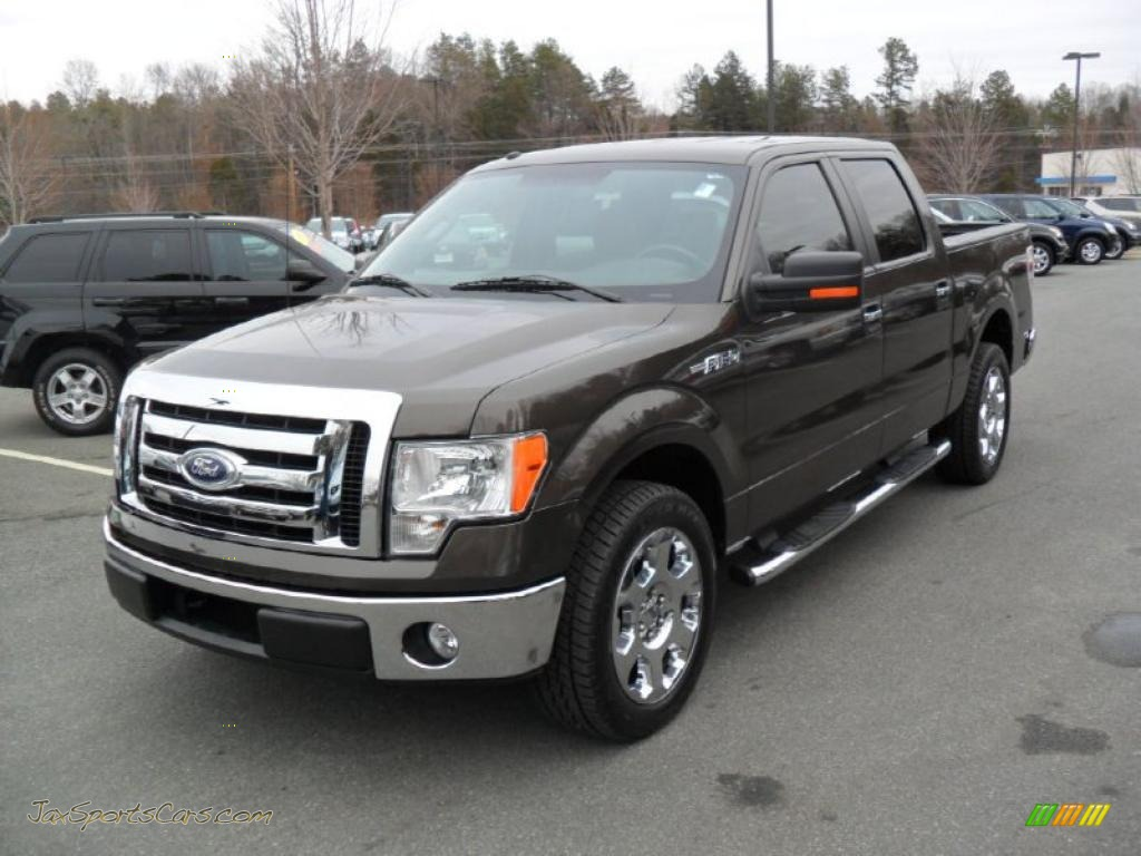 2009 Ford F150 Xlt Supercrew In Stone Green Metallic