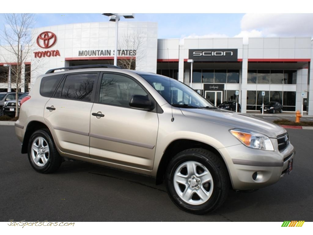 2007 toyota rav4 4wd in savannah metallic 064604 jax sports cars cars for sale in florida. Black Bedroom Furniture Sets. Home Design Ideas