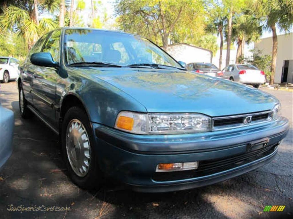 1990 Honda Accord Ex Sedan In Laurel Blue Metallic