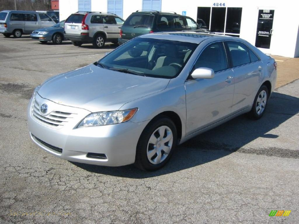 2008 toyota camry le in classic silver metallic 242110 jax sports cars cars for sale in. Black Bedroom Furniture Sets. Home Design Ideas