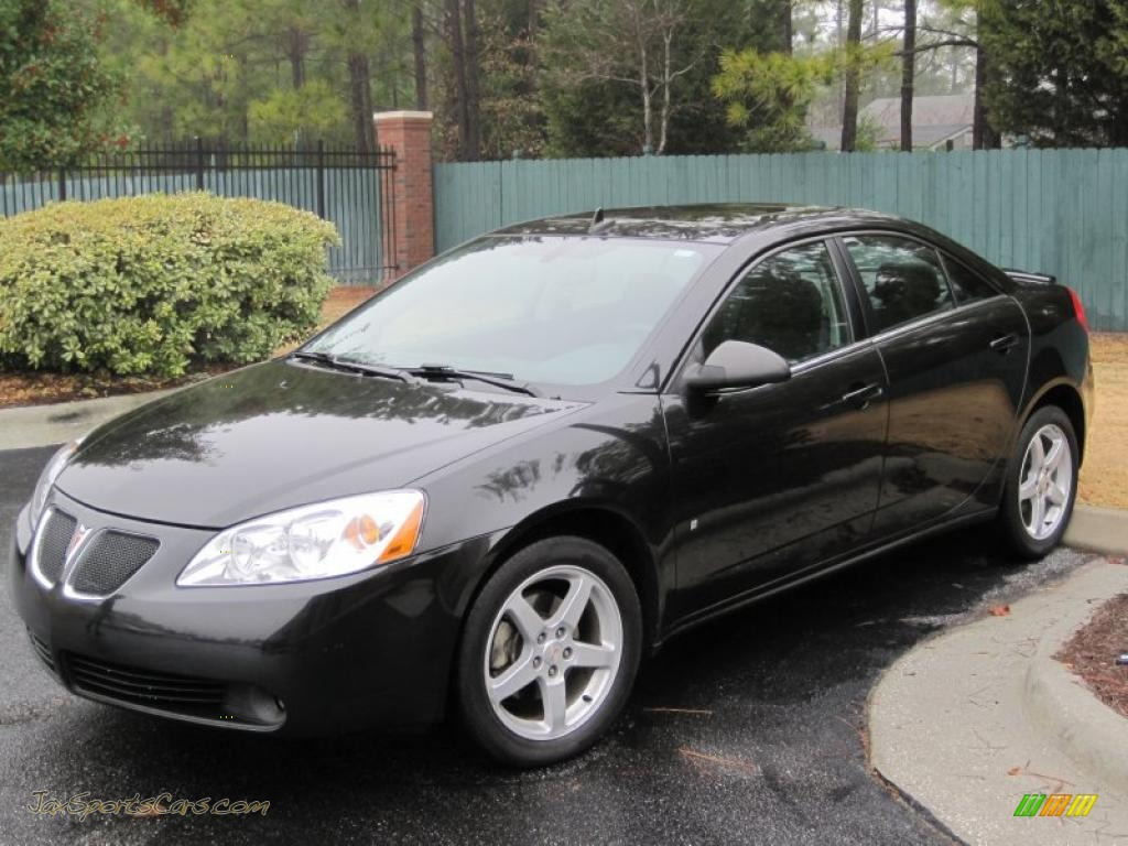 2008 Pontiac G6 V6 Sedan In Black 258476 Jax Sports