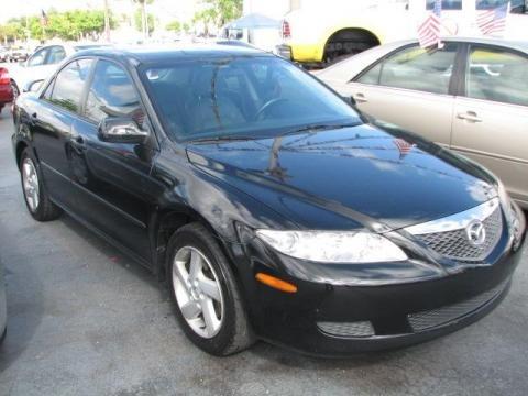 Mazda 6 2003 Black. Onyx Black 2003 Mazda MAZDA6 i