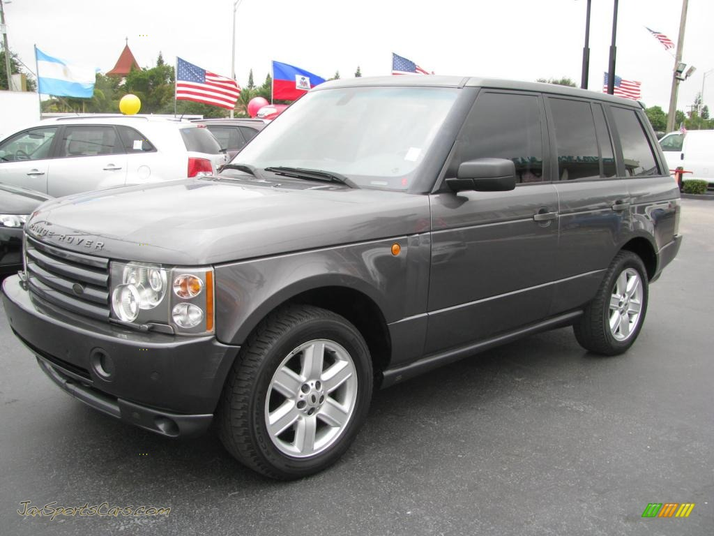 2005 land rover range rover hse in bonatti grey metallic photo 5 182609 jax sports cars. Black Bedroom Furniture Sets. Home Design Ideas
