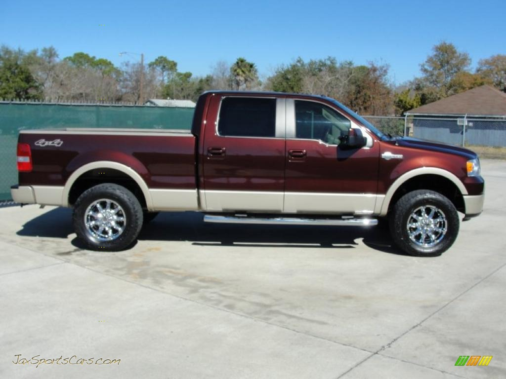 2008 Ford F150 King Ranch Supercrew 4x4 In Mahogany