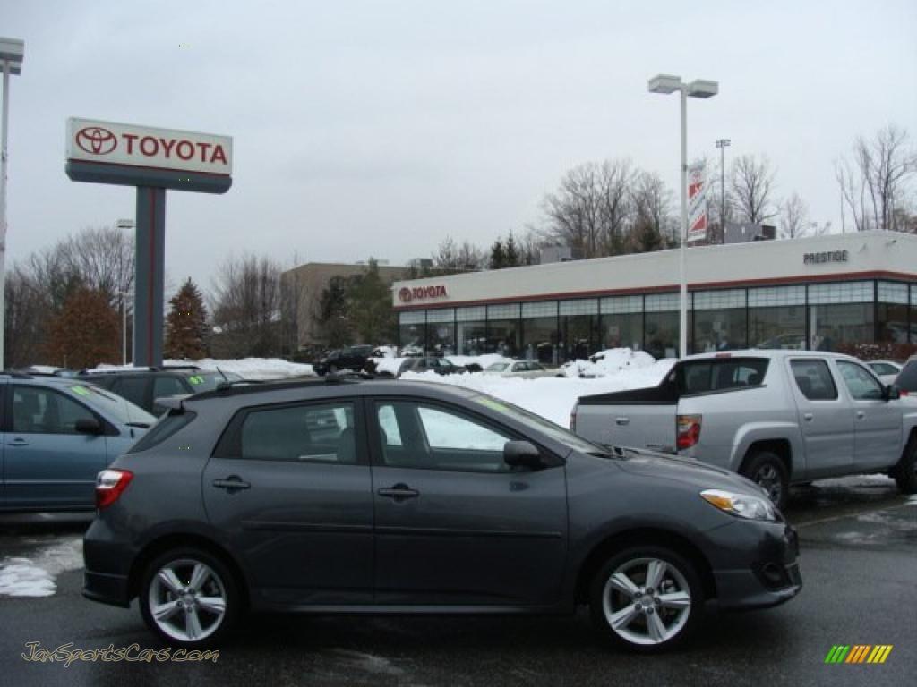 2010 Toyota Matrix S AWD in Magnetic Gray Metallic - 017713 | Jax ...
