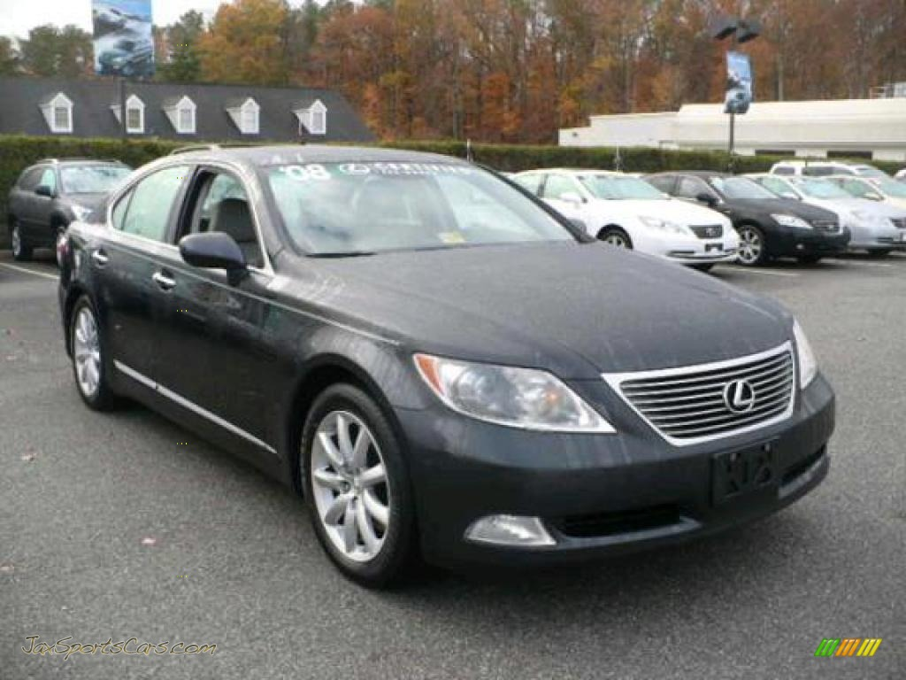 2008 Lexus Ls 460 In Smokey Granite Gray Mica Photo 9