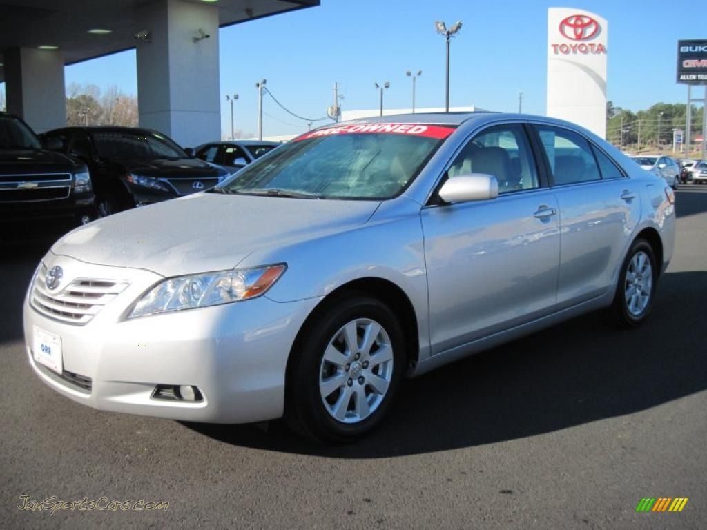 2008 toyota camry xle v6 in classic silver metallic 060908 jax sports cars cars for sale. Black Bedroom Furniture Sets. Home Design Ideas