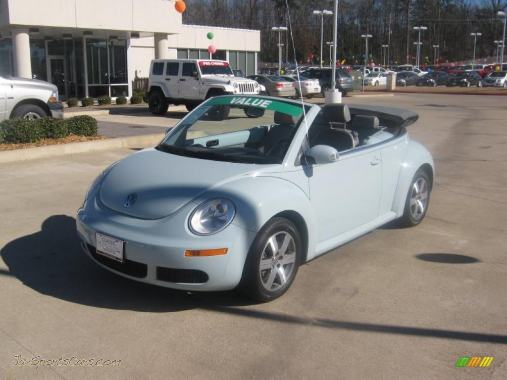 2006 Volkswagen New Beetle 2.5 Convertible in Aquarius Blue - 332887 ...