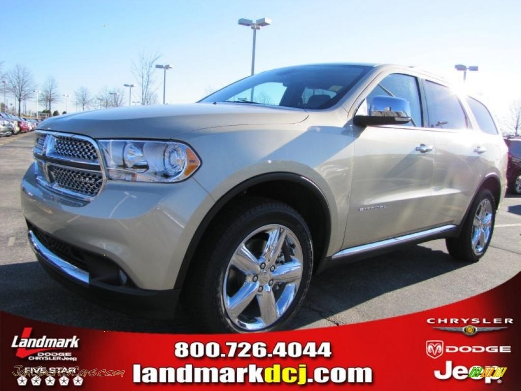 2011 Dodge Durango Citadel In White Gold Photo 10 592792 Jax Sports Cars Cars For Sale In