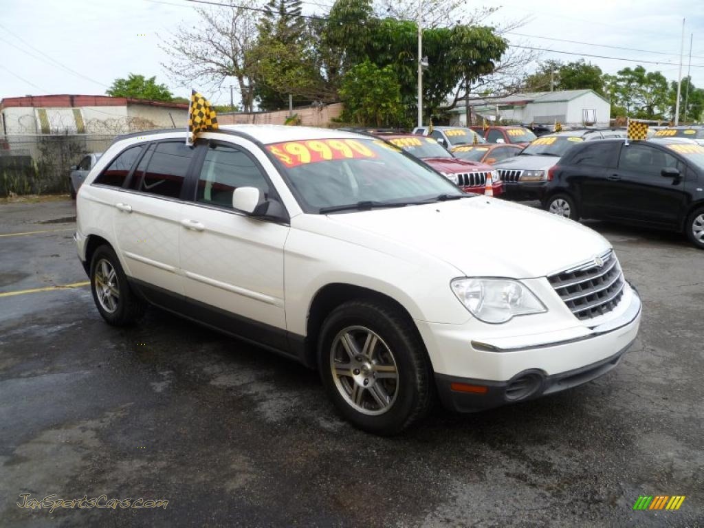 2007 chrysler pacifica touring in stone white 246974. Black Bedroom Furniture Sets. Home Design Ideas