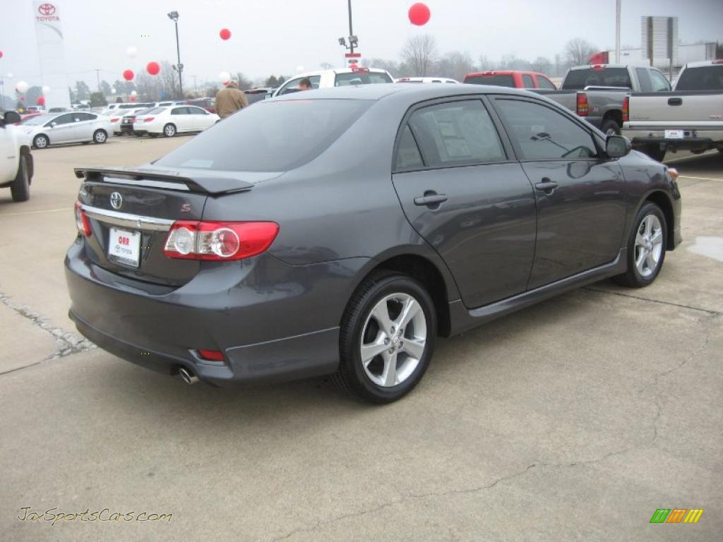 2011 corolla s magnetic gray metallic dark charcoal photo 7