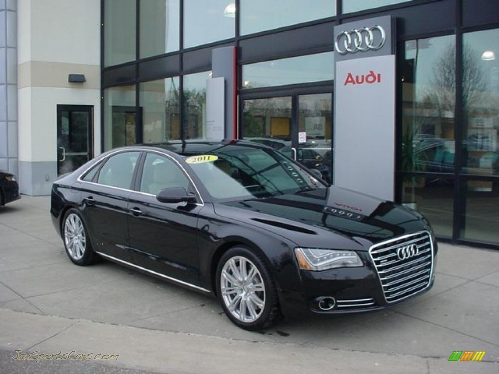 2011 Audi A8 4 2 Fsi Quattro In Phantom Black Pearl Effect