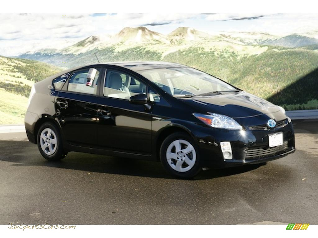 2010 toyota prius hybrid iv in black   226986 jax sports