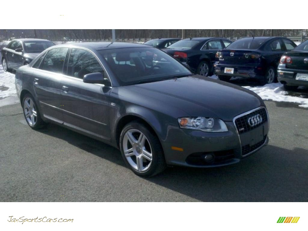 2008 Audi A4 2 0t Quattro S Line Sedan In Dolphin Grey
