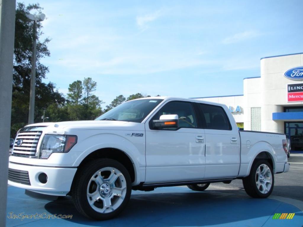 2011 ford f150 limited supercrew in white platinum metallic tri coat a56835 jax sports cars. Black Bedroom Furniture Sets. Home Design Ideas