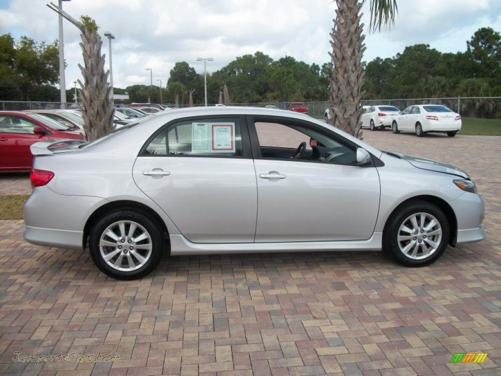 2002 Toyota Camry For Sale >> 2010 Toyota Corolla S in Classic Silver Metallic - 533090 | Jax Sports Cars - Cars for sale in ...