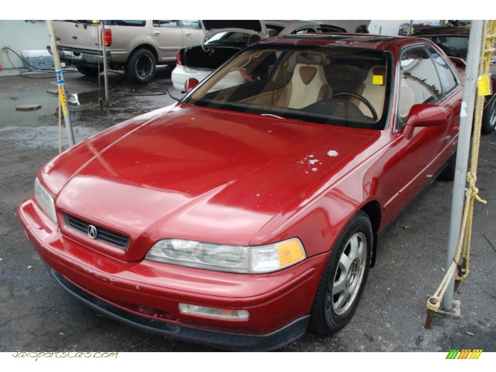 1992 Acura Legend LS Coupe in Cassis Red Pearl - 001167 | Jax Sports ...